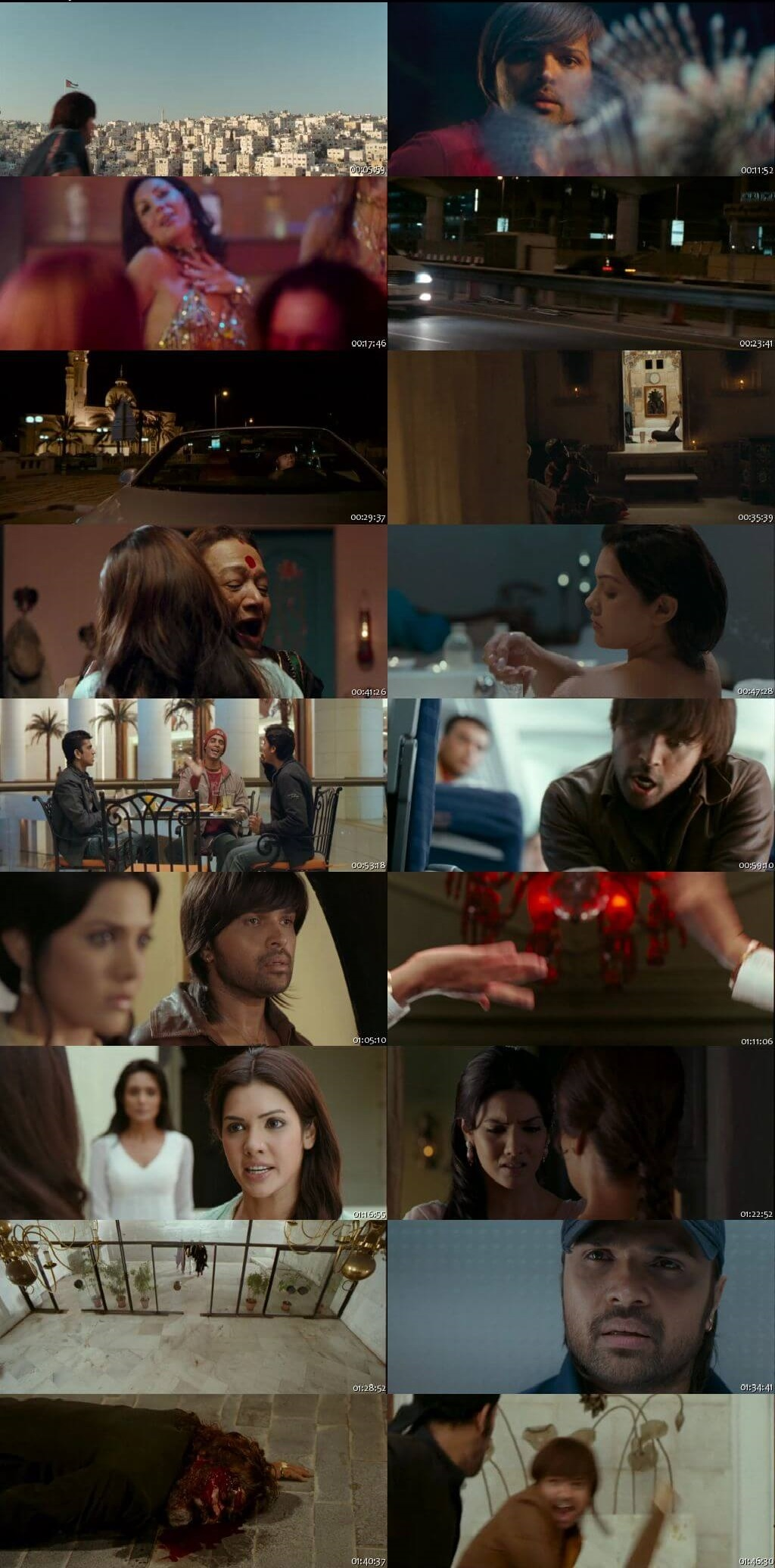 Screen Shot Of Kajraare 2010 300MB HDRip 480P Full Hindi Movie Watch Online Free Download
