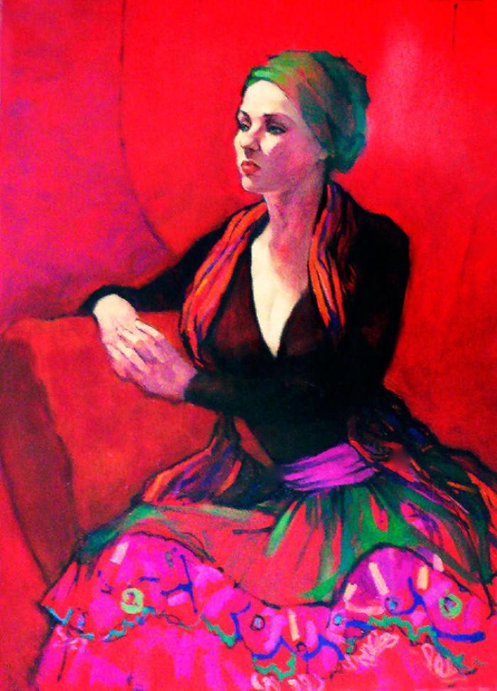 Ню и портреты. Roz McQuillan 17