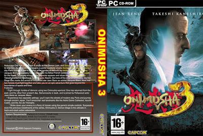 Jogo Onimusha 3 Demon Siege PC DVD Capa