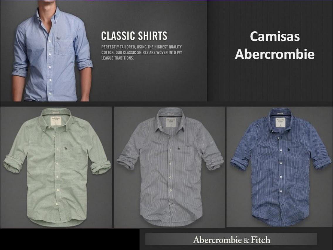 cfa96516b5 Camisa social Abercrombie. Polo Xadrez Hollister