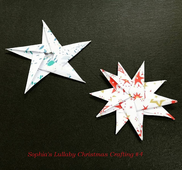 Sophia's Lullaby Christmas Crafting Day 4