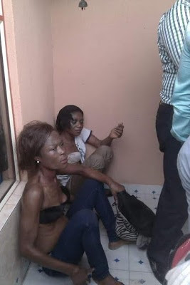 Photos: Two notorious female thieves nabbed in Akwa Ibom