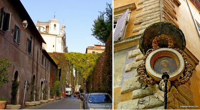 Via Giulia, rua renascentista em Roma
