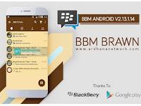 BBM Brawn V2.13.1.14 - BBM MOD Android V2.13.1.14 Terbaru