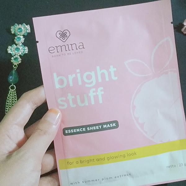 Review Emina Bright Stuff Essence Sheet Mask