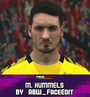 PES 2017 Faces Matts Hummels by ABW