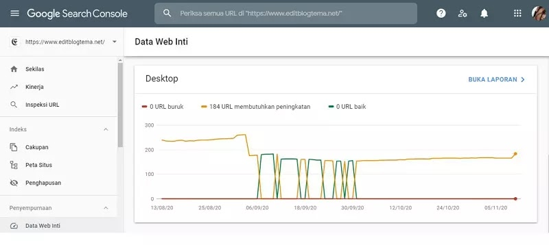 data web dekstop