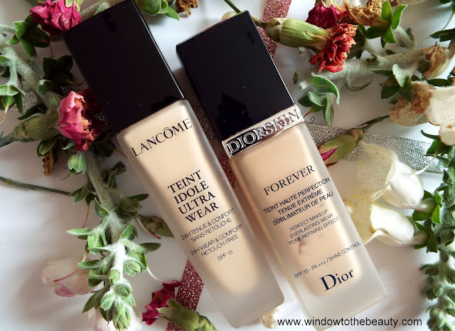 Lancome foundation vs dior forever