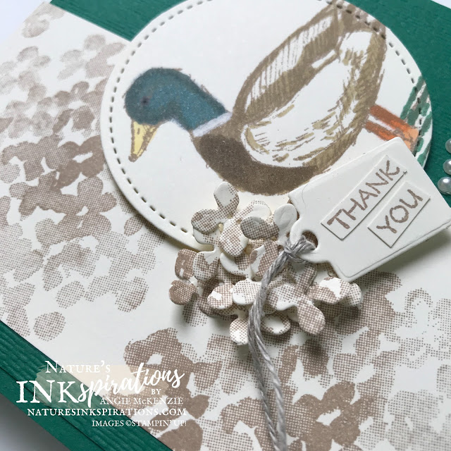 By Angie McKenzie for Crafty Collaborations Crafty Challenge Blog Hop; Click READ or VISIT to go to my blog for details! Featuring the retiring Field Journal and Beautiful Friendship Stamp Sets from the 2020-21 Annual Catalog along with the Hydrangea Dies from the January-June 2021 Mini Catalog by Stampin' Up!; #sketchchallenge #fieldjournalstampset #beautifulfriendshipstampset #stitchedshapesdies #hydrangeadies #thankyoucards #floralcards #mallardduck #coloringwithblends #hydrangeacluster #cardtechniques #craftychallengebloghop #stampinup #naturesinkspirations #makingotherssmileonecreationatatime