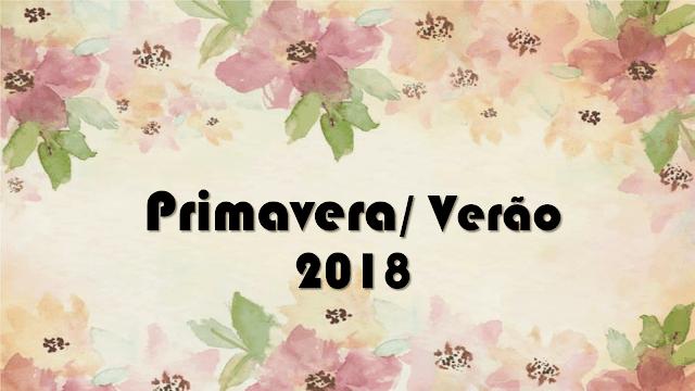 3 Tendencias para Primavera/Verão 2018