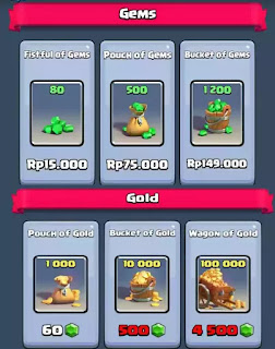 Manfaatkan gold