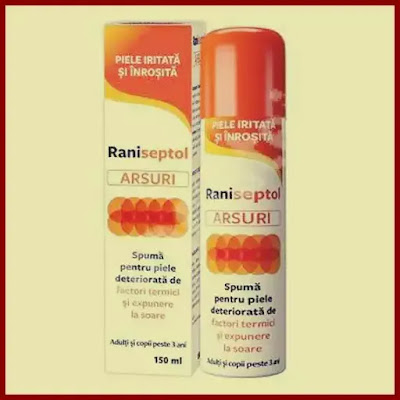 raniseptol arsuri spuma pareri formuri prospecte