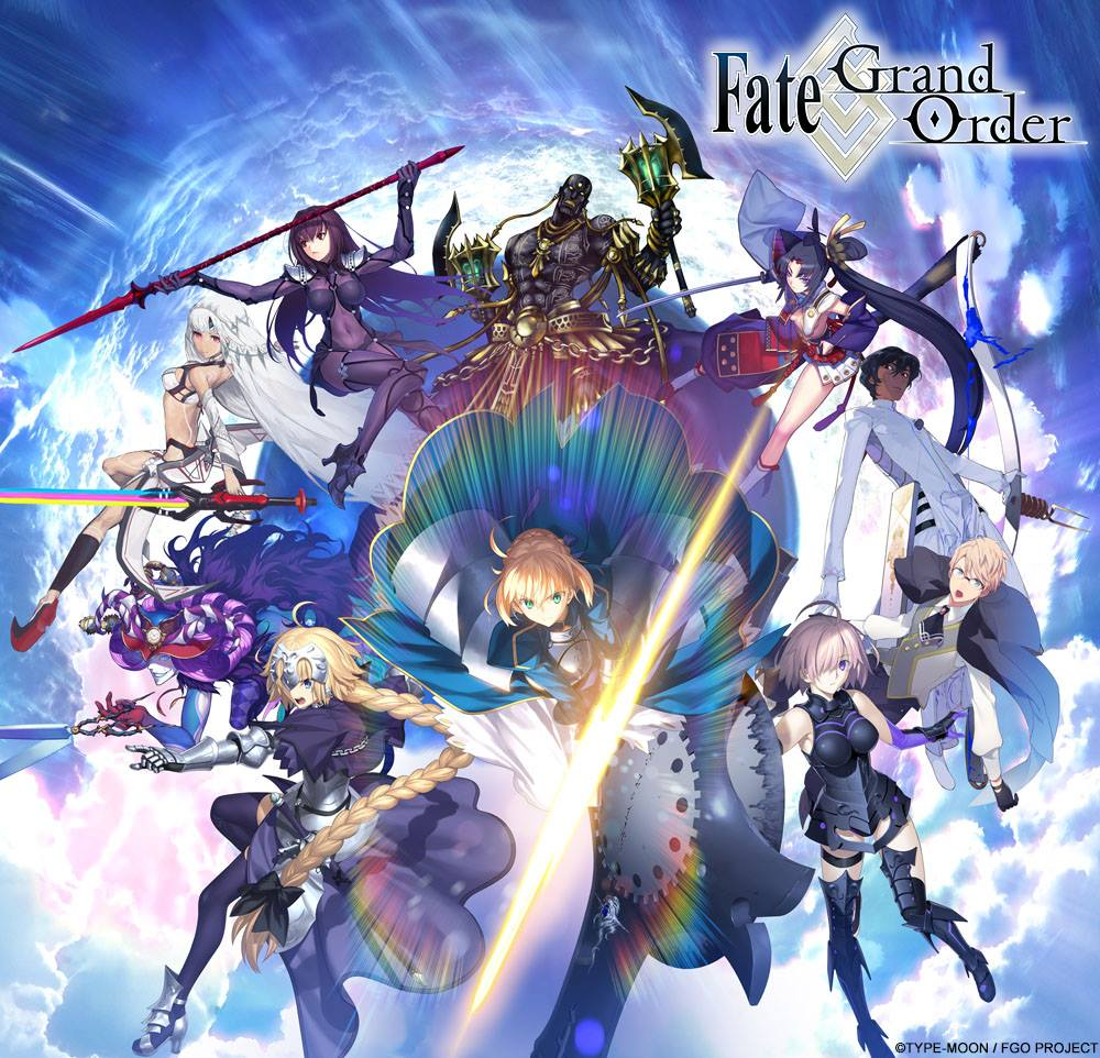 Fate/Grand Order launches in South East Asian Countries and