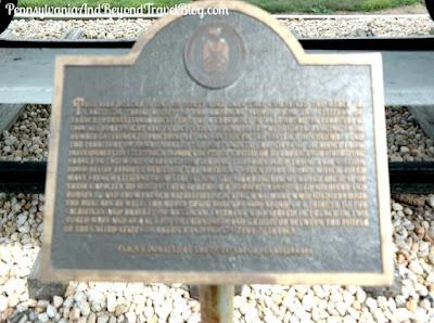 Merci Gratitude Train Boxcar in Fort Indiantown Gap Pennsylvania