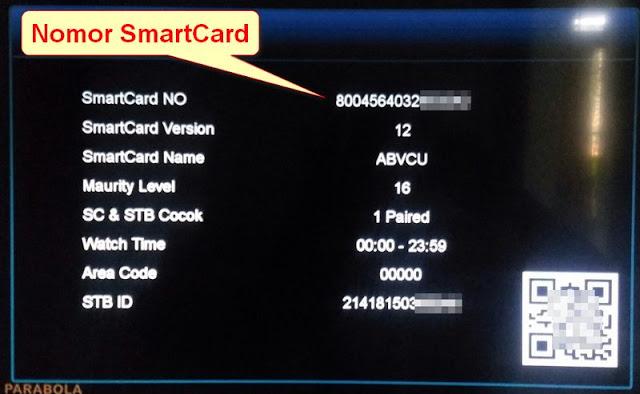 Nomor SmartCard