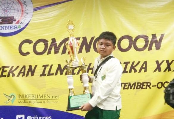 Alhamdulillah, Siswa MIN 1 Kebumen Raih Juara III Pekan Ilmiah Fisika Unnes