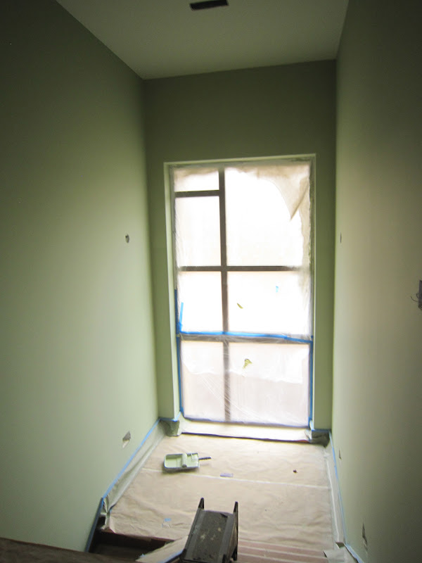 North Carolina Passive House Interior Painting Drainage