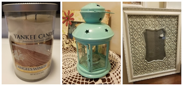 Yankee Candle, Ikea Lantern, Picture Frame