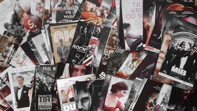 miniplakaty, miniaturowe plakaty, reklama kino