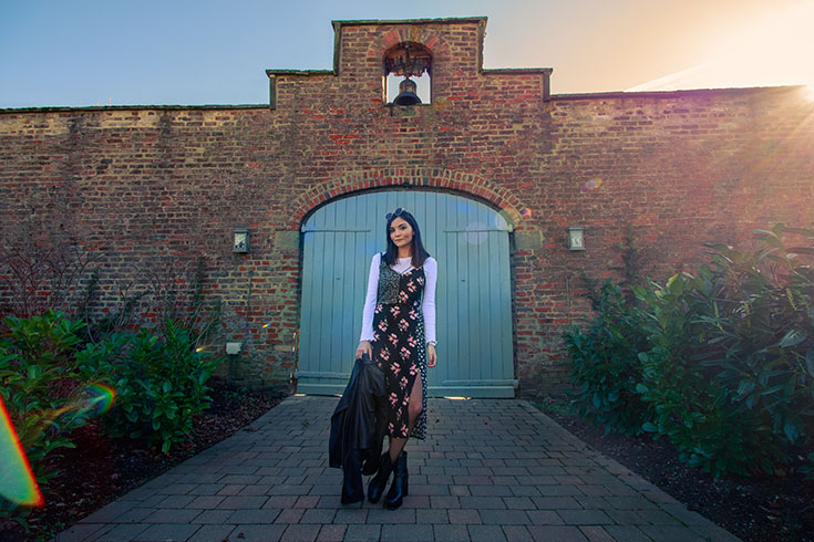 North East Fashion Blogger Photoshoot at Wynyard Hall