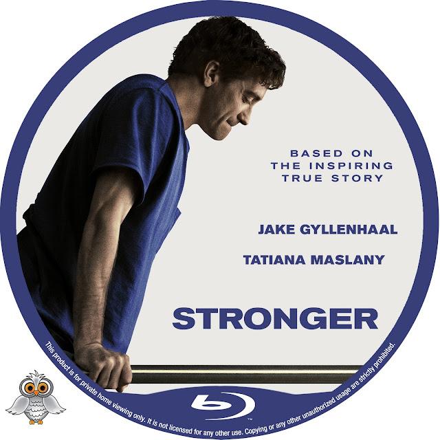 Stronger Bluray Label