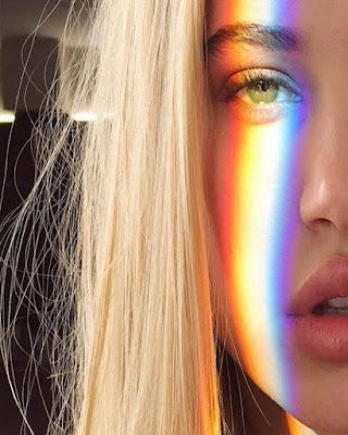 foto de ojo arcoiris tumblr