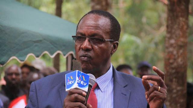 former Kiambaa MP Paul Koinange who succumbed to COVID-19 photo