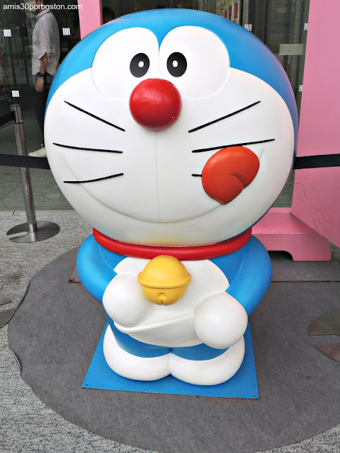 Doraemon en TV Asahi de Roppongi Hill