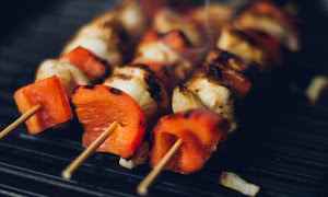 Food Dinner Grilled Shashlik