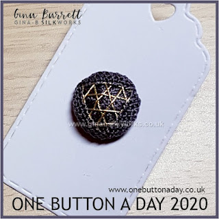 One Button a Day 2020 by Gina Barrett - Day 152 : Shimmer