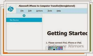 Aiseesoft iPhone to Computer Transfer Ultimate [DISCOUNT: 25% OFF] 7.0.18 Download