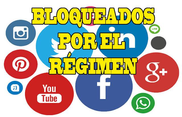 Régimen de Maduro bloqueó las redes sociales en Venezuela