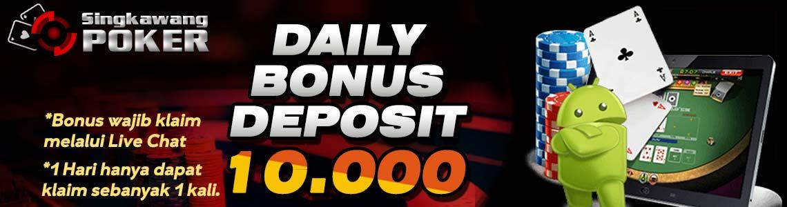 DAILY BONUS DEPOSIT 10.000-2