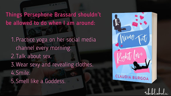 Wrong Text, Right Love by Claudia Burgoa teaser
