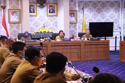 Gubernur Lampung Pimpin Rapat Pengembangan Dekranasda dan UMKM Lokal
