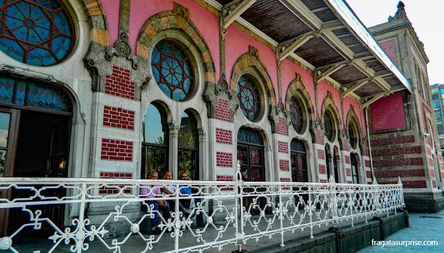 Estação Ferroviária de Sirkeci, Istambul, ponto de partida do Orient Express