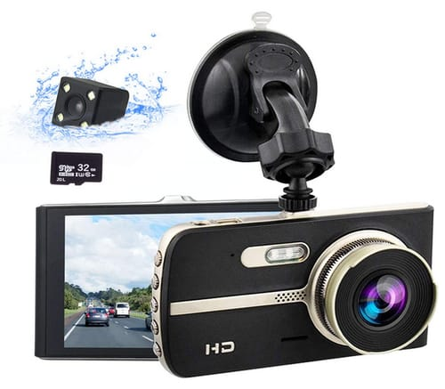 COEO Dash Cam Car FHD Front and Rear Camera 2021