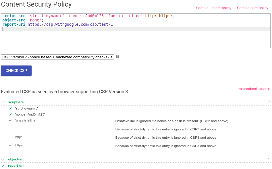 Google Online Security Blog Reshaping web defenses with strict – Security Policy Sample