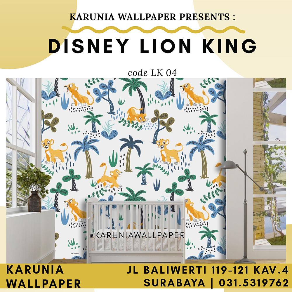 toko jual wallpaper dinding lion king