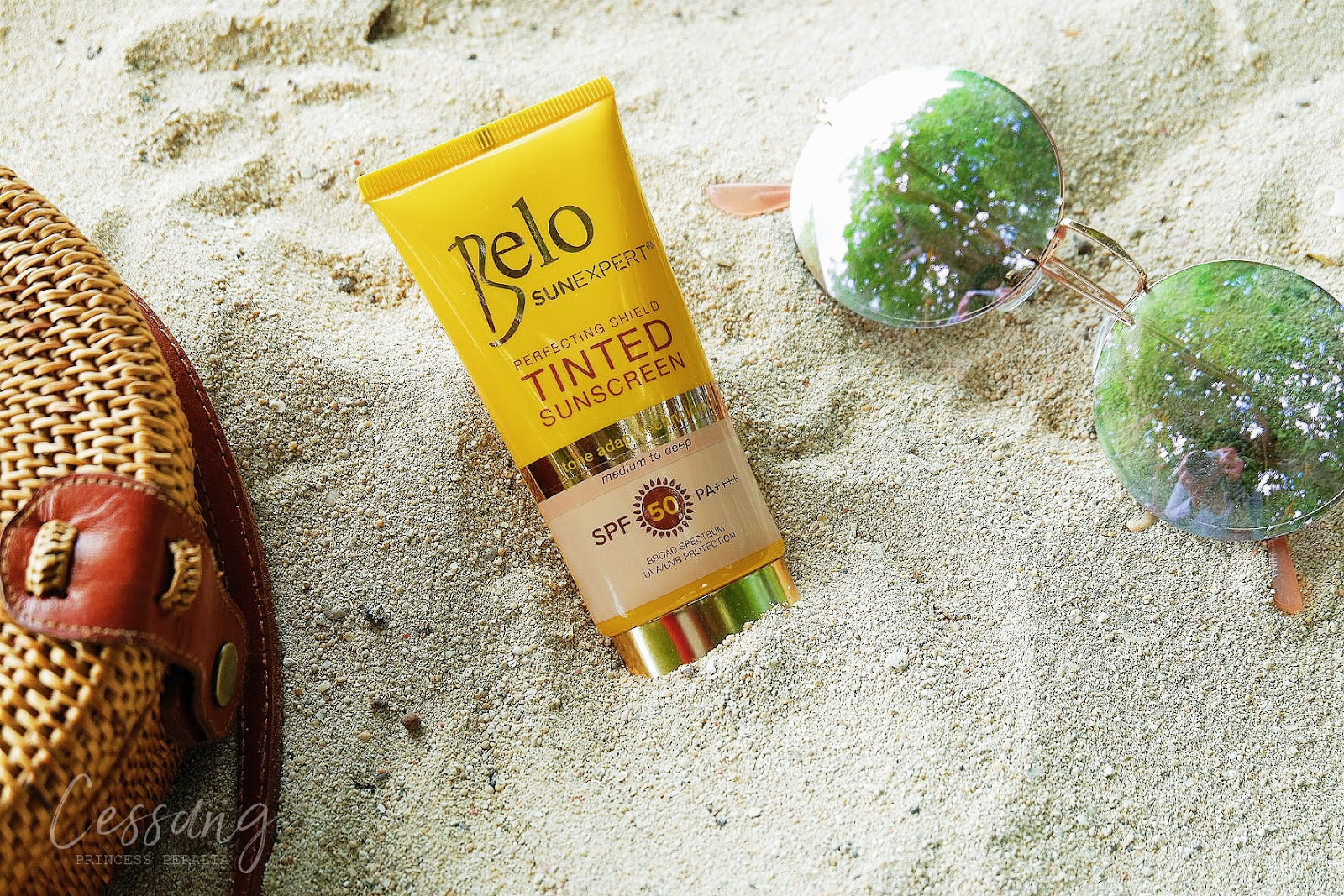 BELO SUNEXPERT PERFECTING SHIELD TINTED SUNSCREEN REVIEW