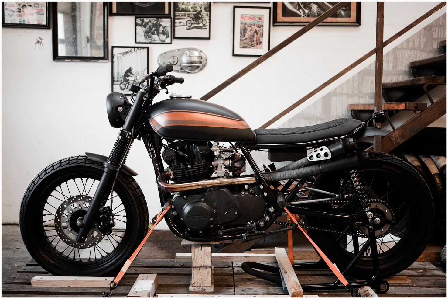 1973 tx650 cafe racer (paint ideas) | yamaha xs650 forum