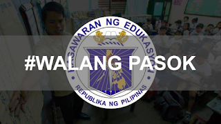 #WalangPasok Suspension of all classes and work in government offices nationwide on October 16