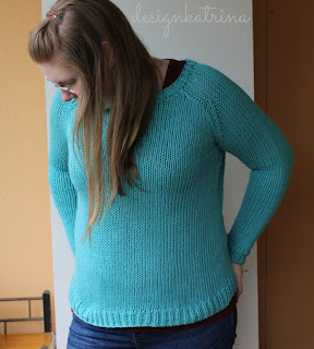 Avery Cardigan knitted by DesignKatrina
