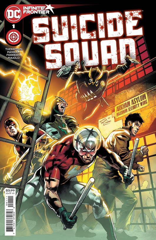 Cover of Suicide Squad #1