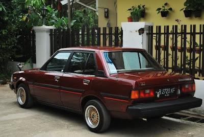 Corolla DX Retro Klasik dan Menawan  Mobil Modifikasi