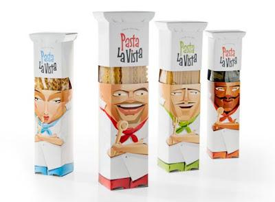 Pasta La Vista Package Design