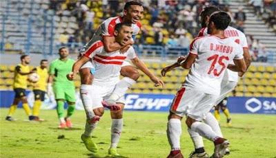 موعد مباراة حرس الحدود الزمالك ضمن مباريات الدوري المصري 2019