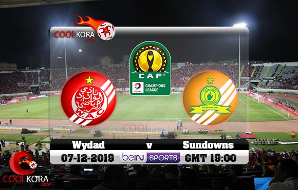 مشاهدة مباراة الوداد وصن داونز اليوم 7-12-2019 دوري أبطال أفريقيا