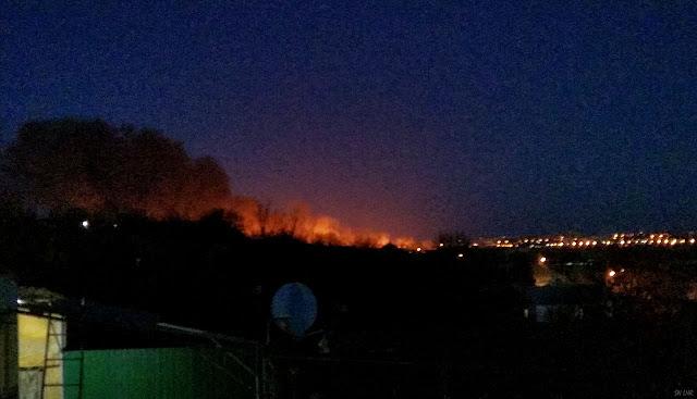 Луганск горит камыш!