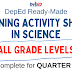 LEARNING ACTIVITY SHEETS in SCIENCE (Complete Quarter 1) All Grade Levels